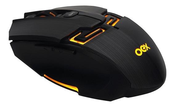 Mouse Óptico Gamer Usb 4000 Dpi Com Led Killer Ms 312 Oex