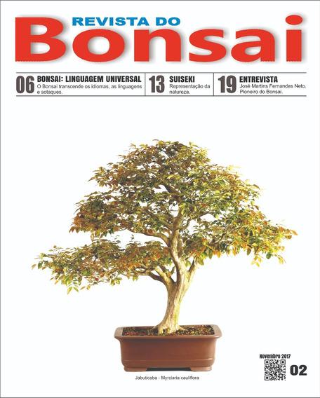 Revista Do Bonsai 02 - Frete Grátis