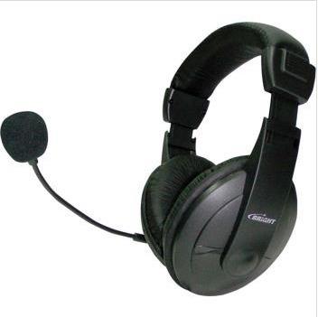 Fone De Ouvido Com Microfone Vulcao Headset C/vol. Ajust. Br