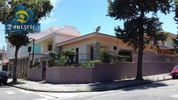 Sobrado Com 4 Dormitórios - Edicula - Para Venda Na Vila Pires. - So1668