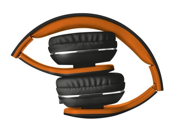 Headphone Trust Mobi Dobrável Preto E Laranja T20115