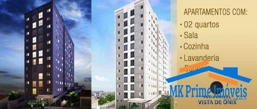 Imagem 1 de 15 de Apartamento 51m² Com 2 Dormitórios - 2247