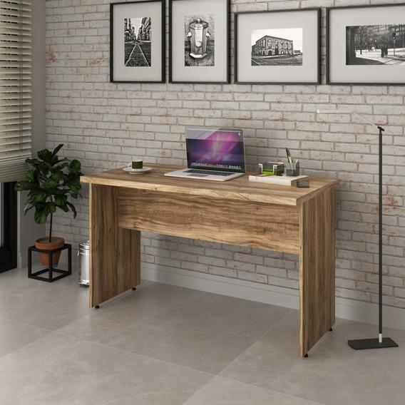 Mesa Escrivaninha De Escritório 1,20m Tampo 30mm Work30