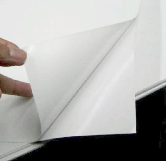 Papel Autoadhesivo A4 Mate Para Stikers Chorro Tinta En Temperley