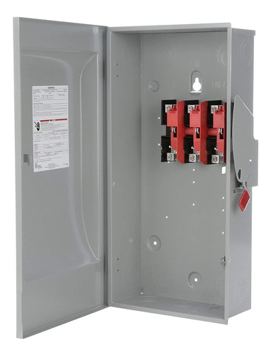 Siemens Gnf324 200 Amp, 3 Polos, 240 V, 3 Cables, No Fundido