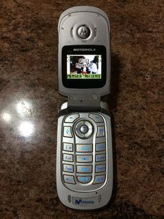 Celular Basico Con Tapa Motorola V172 Para Movistar