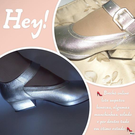 Brechó - Lote Sapatos Bonecas / 8 Pares