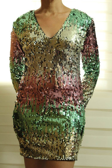 Hermoso Vestido De Dama Casual. Talla M.