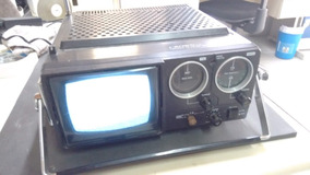 Item Colecionável, Transistor Crown Tv Am Fm Ac-bat-car