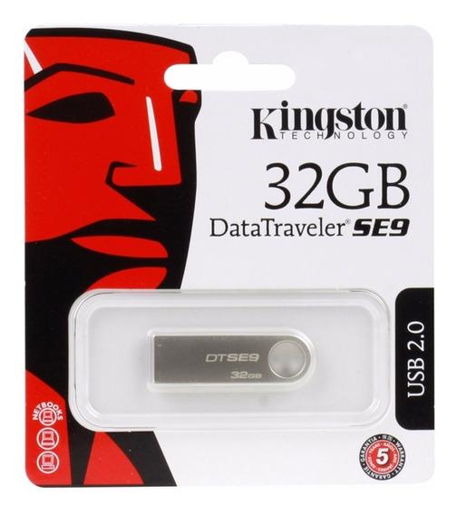 Pen Drive Kingston 32gb Dt Se 9 Original Metal Pronta Entreg