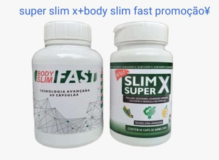 Body Slim Fast+super Slin X Original Pronta Entrega