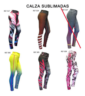 Nuevas Calzas Pack X2 Touche Sport Deportiva Mujer Gym Fit