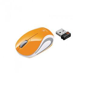 Mouse Otico Logitech M187 Usb Mini Wireless Laranja