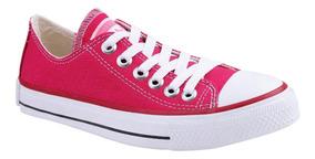 Tênis Converse All Star Chuck Taylor Baixo Rosa Pink