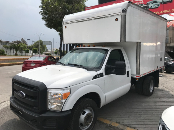 Ford F-350 6.2 Xl Manual Con Caja Seca Mod. 2016