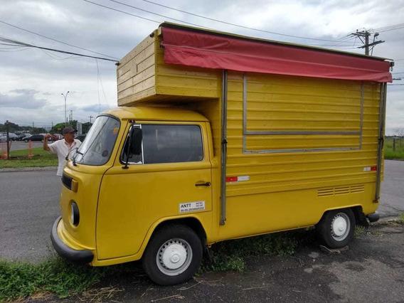 Kombi Food Truck Muito Inteira Ano 1989 ,lindona