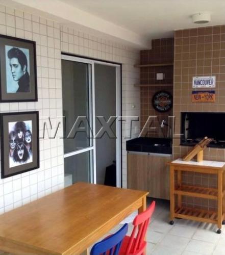 Maravilhoso Apartamento, Andar Alto, Lazer De Clube No Lauzane - Mi83690