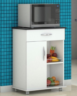 Fruteira Armário Suporte Cozinha Microondas