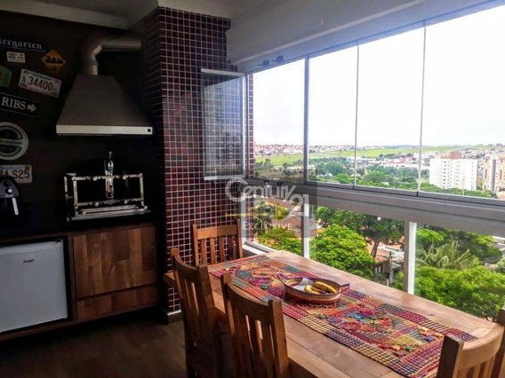 Apartamento Com 3 Dormitórios À Venda, 96 M² Por R$ 750.000 - Due, Indaiatuba/sp - Ap0266