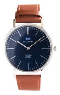 Reloj Hombre Williams Analogíco Sumergible Wih0065-anl-2a