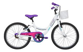 Bicicleta Infanto Juvenil Caloi Ceci Aro 20 - Quadro Aço
