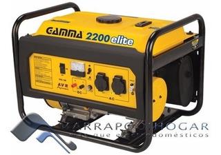 Generador Gamma Elite 2200 Electrogeno 2000w - 4t - 6.5hp