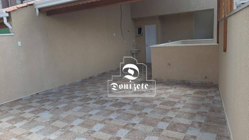 Cobertura À Venda, 100 M² Por R$ 441.000,00 - Vila América - Santo André/sp - Co11810