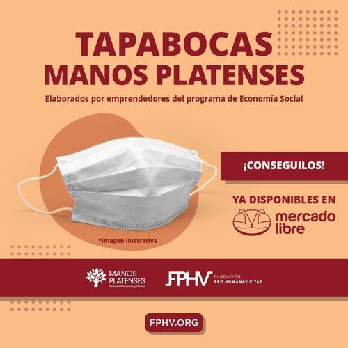 Tapabocas Friselina Dos Capas Con Sujetador Nasal X 10