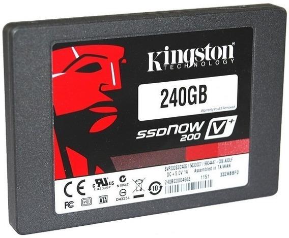 Hd Ssd Kingston 240gb Ssd A400 Sata 3 6gb/s 500mb/s