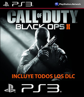 Call Of Duty Black Ops 2 Ps3 + Todos Sus Dlc