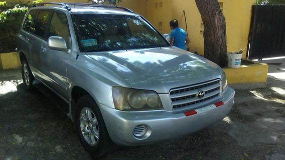 Toyota Highlander 2002 Financiamiento Disponible