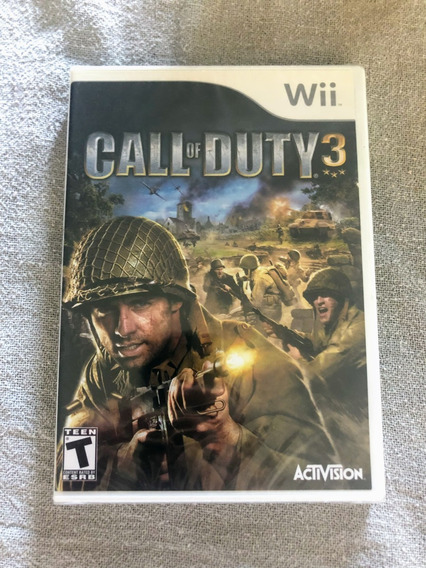 Call Of Duty 3 Wii Lacrado