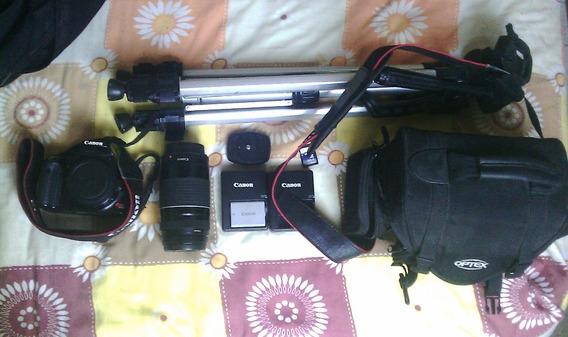 Cámara Fotográfica Profesional Canon Rebel Xsi