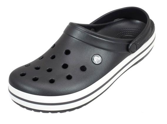 Crocs Originales Crocband Croc Hombre Unisex - Grafito