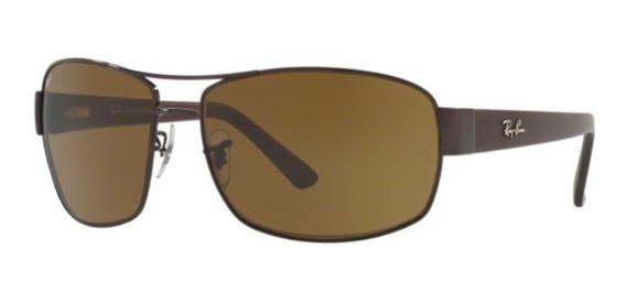 Oculos Sol Ray Ban Rb3503l 904973 66 Marrom Lente Marrom