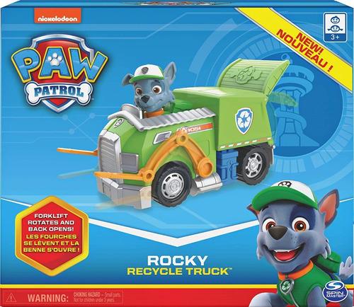 Paw Patrol Rocky Recycle Truck - Entrega Inmediata !!