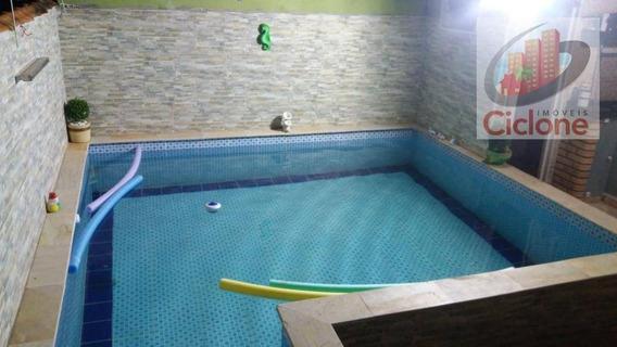Casa Com 2 Dormitórios Para Alugar, 67 M² Por R$ 1.500/mês - Jardim América - Itanhaém/sp - Ca0679