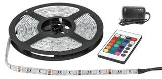 Tira Flexible, 5 M, Rgb, 72w, Led - Voltech 46370