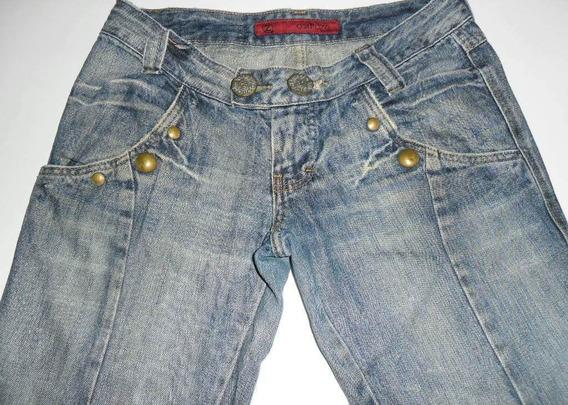Calça Jeans Osmoze 40 Feminina Feminino Oferta Promocao