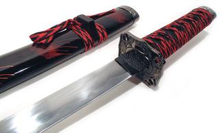 Espada Katana Dragão Gold Halk Tanto Mod 15923