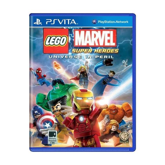 Lego Marvel Super Heroes Universe In Peril Ps Vita Física