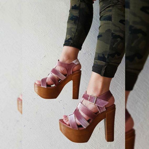 Zapatillas Mujer Plataforma Dama