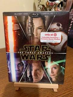 Blu Ray Star Wars The Force Awakens Br+dvd Imp Usa