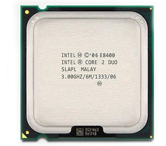 Processador Intel Core 2 Duo E8400 775 3.0 + 1 Mem Ddr2 2g