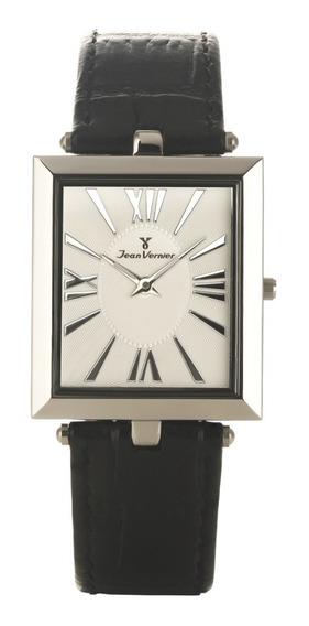 Relógio Slim Jean Vernier Jv711 Extra Chato