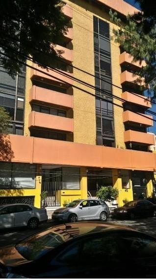Rento Departamento Amueblado, En Parque San Andres, Coyoacan