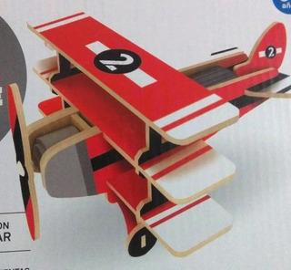 Avión Solar Armable, Navidad Niños, Grandes, Juguetes