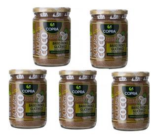 Kit 5 - Açúcar De Coco Copra 350g - 100% Puro Natural