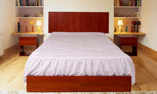 Dm Dormitorio 2 Plza + Colchon Espuma Paraiso Envio Gratis