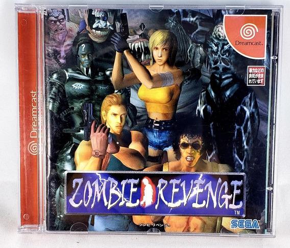 Dreamcast Game Zombie Revenge Original Japonês Completo